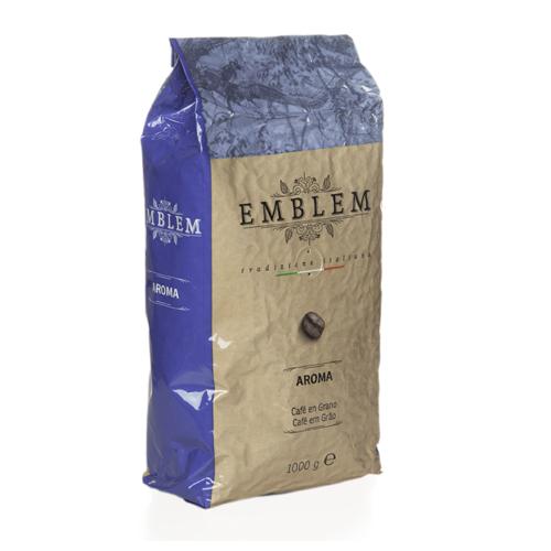 emblem aroma cafe en grano