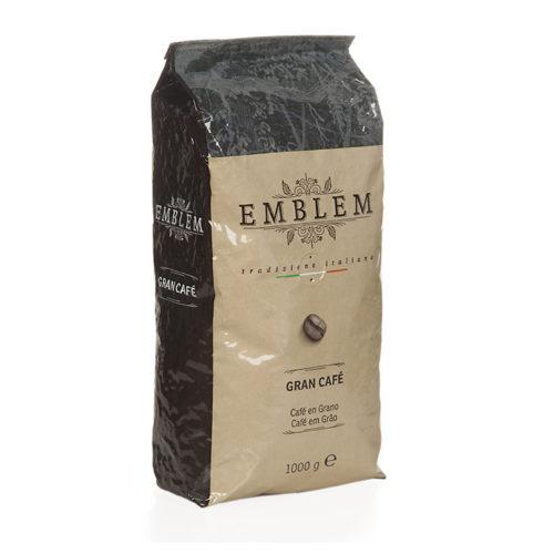 emblem gran café, cafe en grano