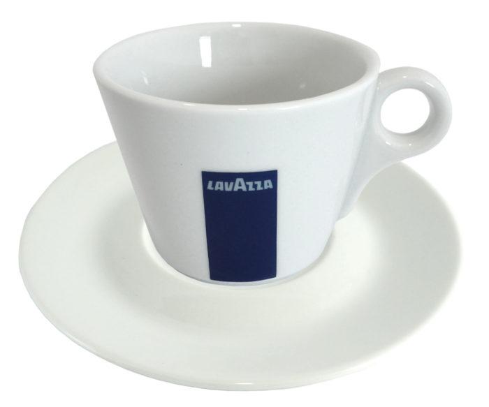 Plato y taza Cappuccino Loza