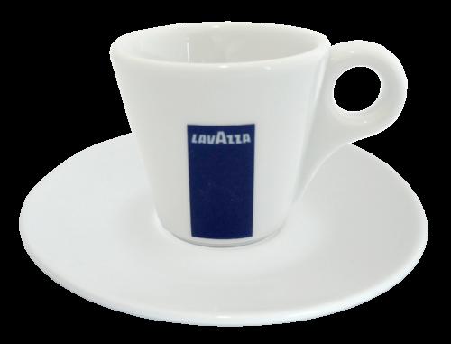 Plato y taza Espresso Loza