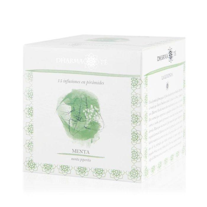 té hojas de menta