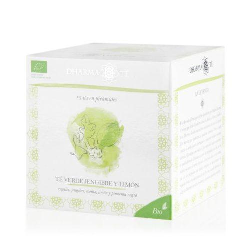 té verde jengibre y limón