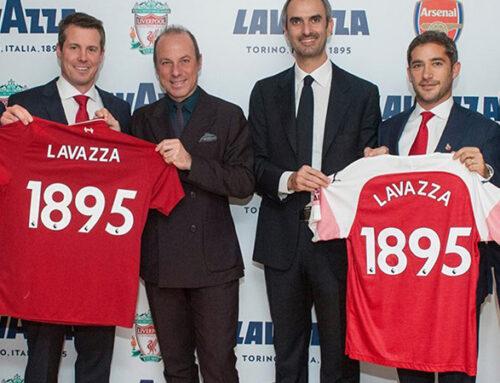 Lavazza es el café oficial del Arsenal FC y del Liverpool FC.