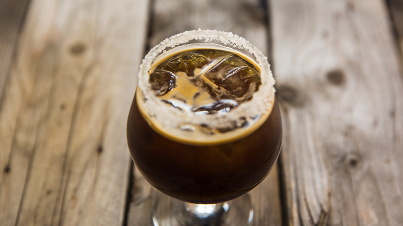 cafe con hielo perfecto