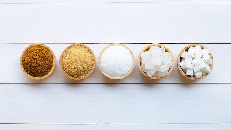 tipos de azucar