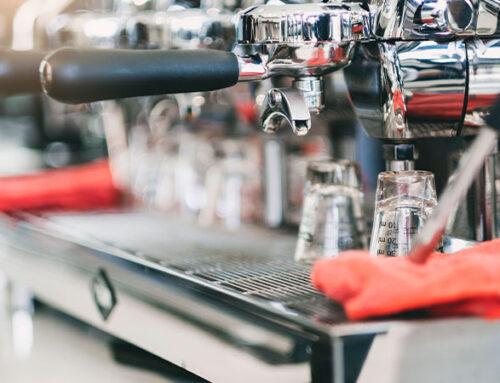 Tipos de máquinas de café industriales.