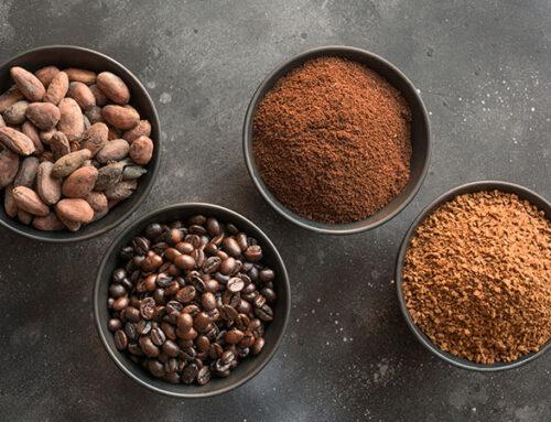 Café molido vs café soluble.