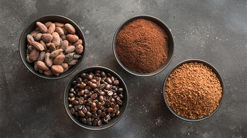 café soluble café molido