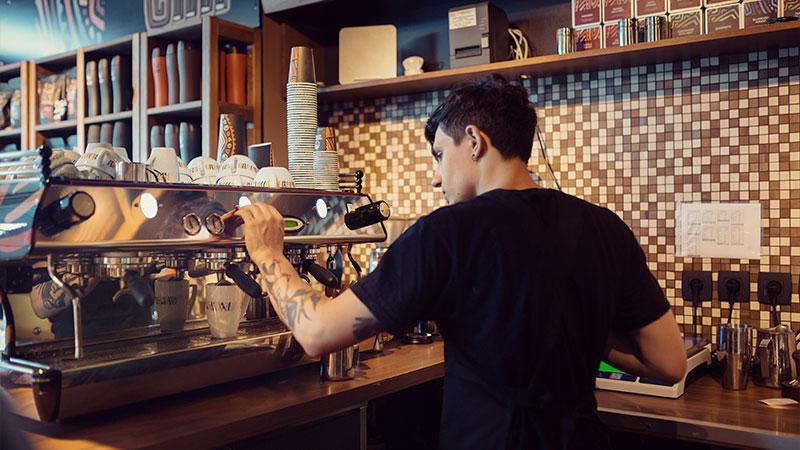 montar una cafetería