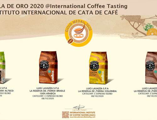 Medalla de Oro 2020 International Coffee Tasting